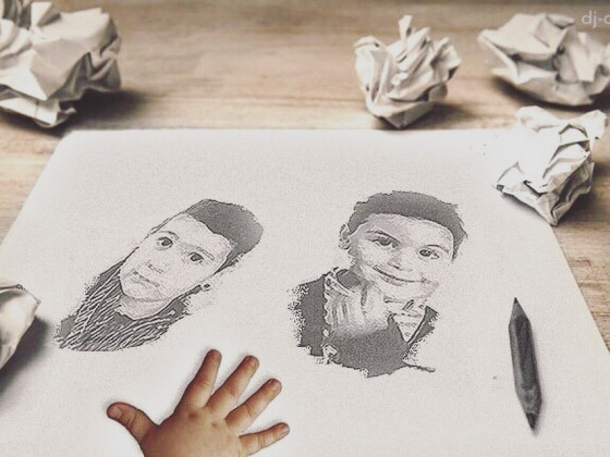 Photodesign: Kids Drawing