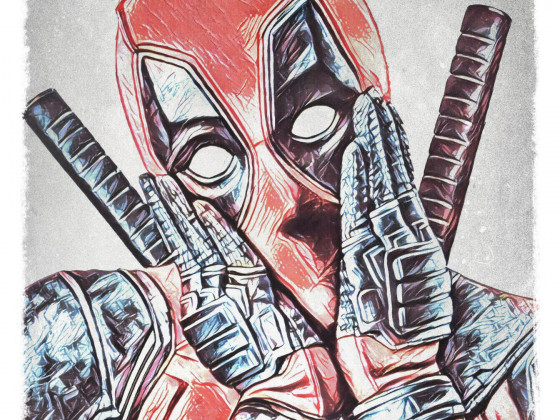 Deadpool drawing