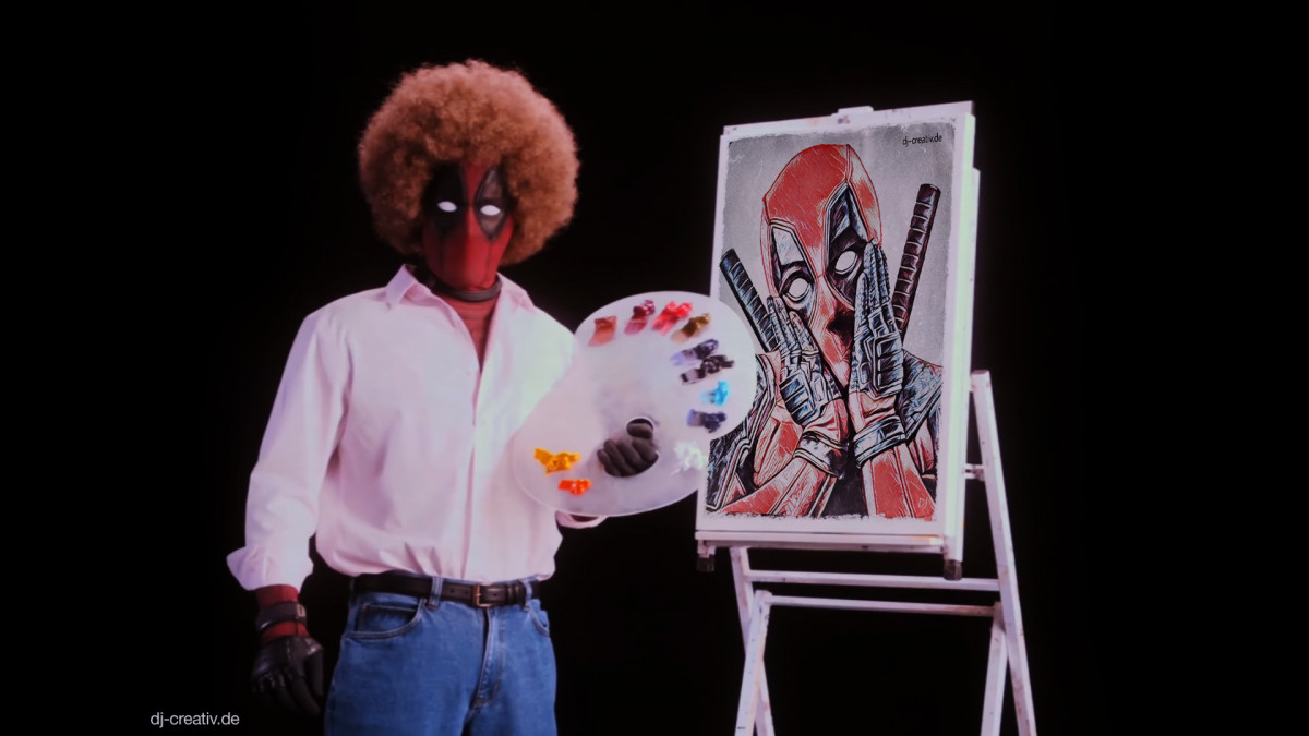 Deadpool Paint